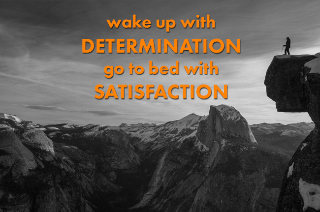 Wake Up Determined